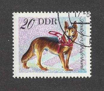 GSD Postage Stamp East Germany
