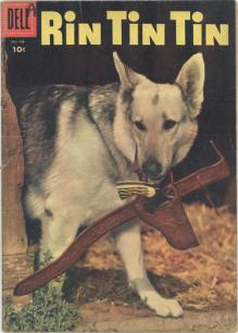 Rin Tin tin Comic Book Cover 2